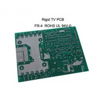 Quality FR-4 base 4-Layer Double sided Rigid TV pcb board 1.0mm Thickness , 35um Copper for sale