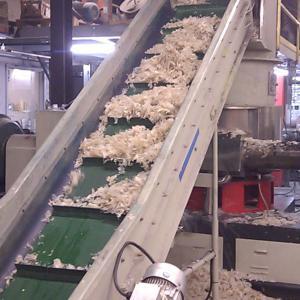 China 300KG PP PE Flakes Pelletizing Line Plastic PP Granules Making Machine on sale
