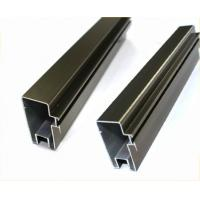 Buy Natural Anodized Aluminum Window Profiles For Interior Decoration Materials at wholesale prices