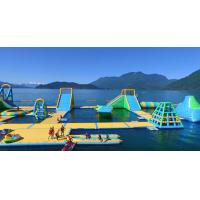 Giant Inflatable Water Park Games /  Harrison Exciting Aqua Park Equipment For Adults or Kids