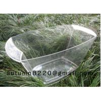Quality clear plastic champagne ice bucket for sale