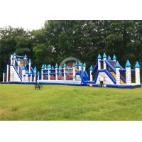 China Playarea Children'S Inflatable Obstacle Course EN14960 Standard Flame Retardant, on sale
