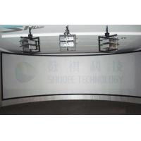 Quality Panorama Sreen 5D Cinema Equipment Arc Screen with 6 Projectors for sale