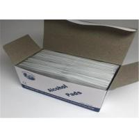 China Disinfecting Disposable Alcohol Cleaning Wipes , IPA Cleaning Wipes Easy to Carry on sale