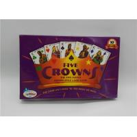 Buy cheap Five Crowns New Playing Cards Intellectual Development Style 16.5x10.5x2.5 Mm from wholesalers
