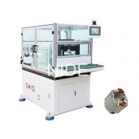 Buy 2 Pole 3 Phase Stator Winding Machines With Double Working Stations / Flyers at wholesale prices