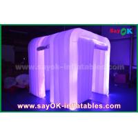 Buy cheap Advertising Hanging Inflatable Colorful Cube Decoration With Led Lighting from wholesalers