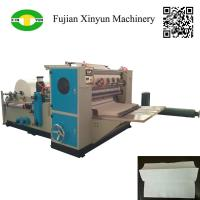 Quality High speed automatic three fold hand towel paper making machine for sale
