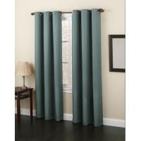 China Dining Room Decorative Panel Curtains Insulated , Polyester Window Curtain on sale