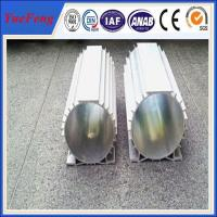 Quality 6000 series industrial anodize aluminium profile, aluminum extrusion electric motor shell for sale