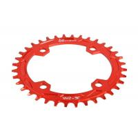 Quality Red Anodized Bike Sprocket / Freewheel CNC Machining Parts for Road Bicycle for sale