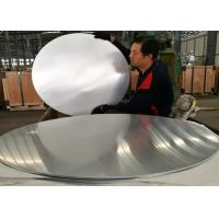 Quality Large Polishing 1070 Round Aluminum Sheet Light Weight For Kitchen Utensils for sale