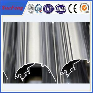 Quality industrial extrusion aluminium profile, OEM anodized aluminum extrusion profile for sale