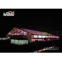2000 Capacity Transparent Outdoor Garden Party Tent Large Capacity Clear Roof for sale