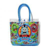 Quality Travel Beach PVC Tote Bag 0.3mm Thickness Durable With Snap Button Closure for sale