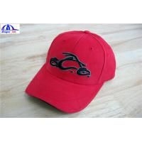 Quality Cool Custom Racing Baseball Caps , Embroidery Custom Fitted Caps For Youth for sale