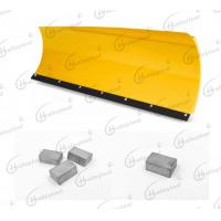 Single Carbide Insert Blades Snow Plow Blade For Grader / Plow / Tractor In Road Construction