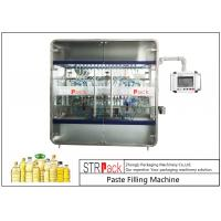 China 10 Nozzles Cooking Oil Filling Machine , Edible Vegetable Oil Bottling Equipment 0.5-5L 3000 B/H on sale