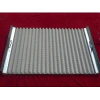 Quality Stainless Steel Wave Type Screen/Corrugated Oil Shale Shaker Screen/80-325mesh for sale