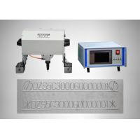 Buy cheap Vin Code Dot Peen Marking Machine , Hard Alloy Handheld Dot Peen Marker from wholesalers