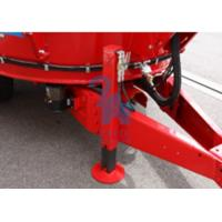 Quality Belt Conveyor Type Cattle Feed Mixers , Upright Auger Feed Wagon Standard Type for sale