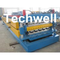 Quality High Grade 45# Axis Double Layer Roll Former / Roll Forming Machine For Roofing Sheets for sale