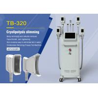 China Salon Cryolipolysis Fat Freeze Slimming Machine With 4 Handles / Weight Loss Equipment on sale