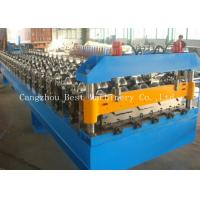 Quality Industrial High Cladding And Roofing Sheet Roll Forming Machine 70 Mm Shaft Dia for sale
