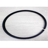 Quality Black Hydraulic Piston Seals , 90-160 Out Diameter Pneumatic Piston Seals for sale