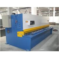 Quality Plate Sheet Metal CNC Swing Hydraulic Shearing Machines Bosch-Rexroth / Siemens Motor for sale