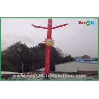 Quality Commercial Red 6m Inflatable Tube Man With Logo Printing Oxford nylon for sale