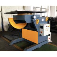 Quality 2T Capacity Welding Positioner With 1200mm Square Table / Tilting Speed Digital Readout for sale