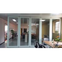 Quality Folding Glass Partition Wall , Interior Glass Door , For Banquet Hall for sale