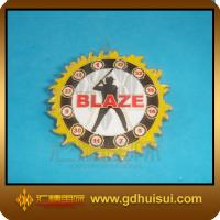 Quality cheap custom iron metal security badges for sale
