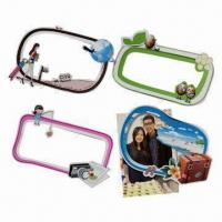 Quality Magnetic photo frames, measures 170x110mm, customized shapes are accepted for sale