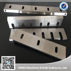 Quality PET Flakes Plastic Granulator Blades HRC 56-58 Hardness High Performance for sale