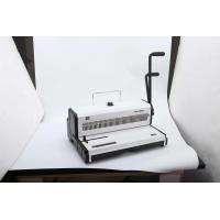 Quality Manual Punch Operation A3 Wire Binding Machines Office Binder Machine 21.5kg for sale