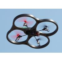 Quality Black  2.4G 4.5INCH 6 Axis Gyro RC quad helicopter with camera / MEMS Sensor for sale