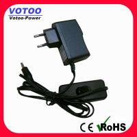 Quality Ac Dc 5V 1A Power Adapter With Switch , Short Circuit Protection for sale