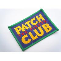 Quality Handmade Custom Clothing Patches Embroidered Brand Logo Patch for sale