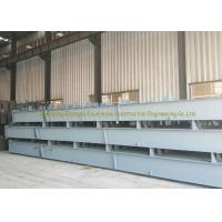 ASTMA53 / ASTM A573 Welded H Channel Steel , L Shaped Steel Beam for sale