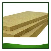 Quality Rock Wool Heat Resistant Thermal Insulation Boards For Walls 25 - 150 MM Thickness for sale