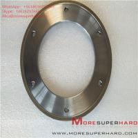 Buy cheap 164*6*105*3*3 Metal Bond Diamond Grinding Wheel for Glass Machine ALisa from wholesalers