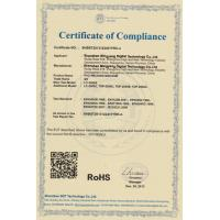 Shenzhen Mingyang Digital Technology Co.,Ltd Certifications