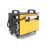 Quality Portable Rust Removal 120W Laser Metal Cleaning Machine for sale