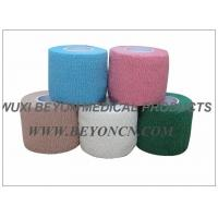 Quality Cotton Cohesive Bandage For Surgical use in Hospital Stretch MAX Compression for sale