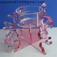 Quality CH (18) clear crystal candelabra for sale