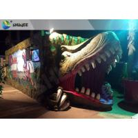 Quality Electric Dynamic 7D Cinema System Dinosaur House In Entertainment Places for sale