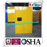 Buy 12GAL Flammable Safety Storage Cabinets with Double vents For Industrial Chemical at wholesale prices