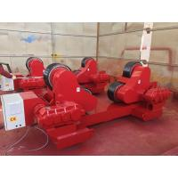 Quality 40Ton PU Self - Aligning  Tank Turning Rolls Wind Tower Welding Rollers for sale